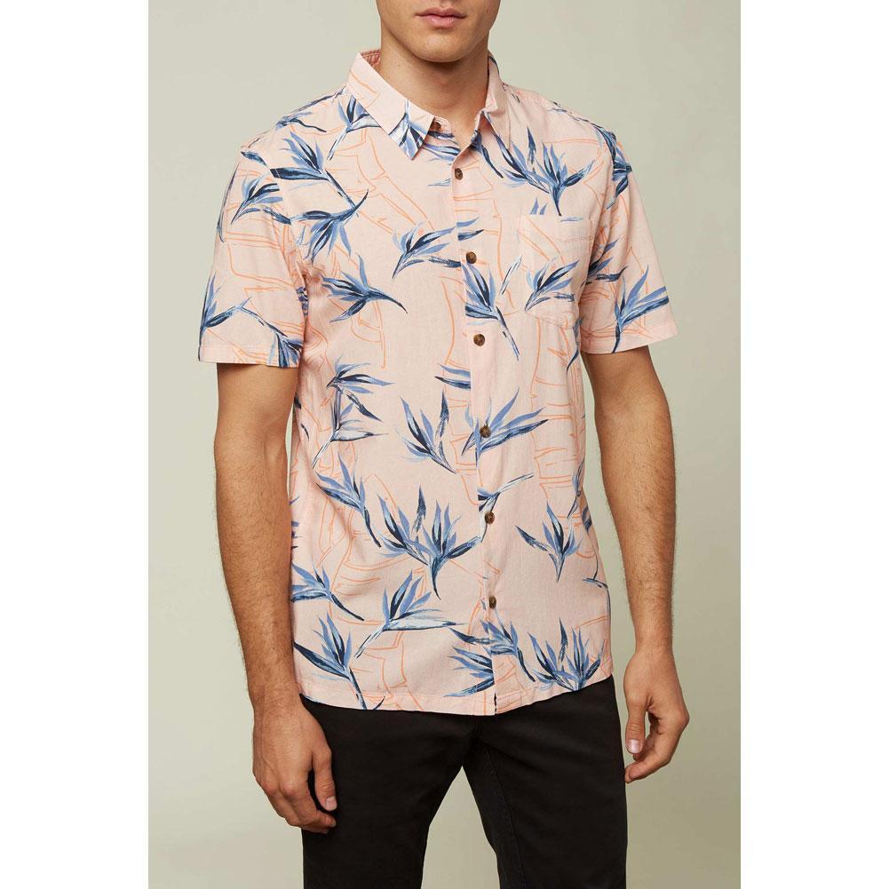 Oneill Radcliffe Short Sleeve Button Up Shirt Men's