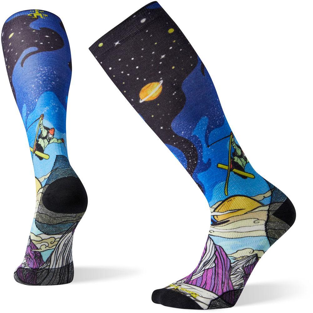 Smartwool Phd Ski Ultra Light Benchetler Print Socks Men's