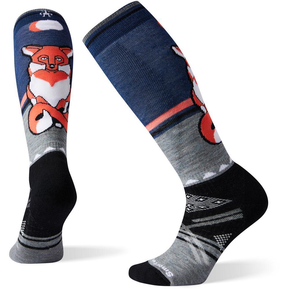 Smartwool Phd Ski Medium Fox Pattern Socks Women's