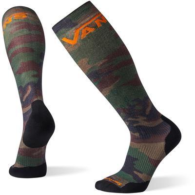 Smartwool PhD Snow Vans Woodland Camo Print Light Elite Socks Men's