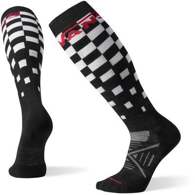 Smartwool PhD Snow Vans Checker Light Elite Socks Men's