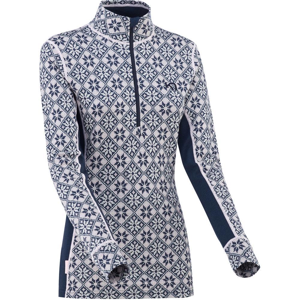 Kari Traa Rose Half Zip Wool Baselayer Top Women's