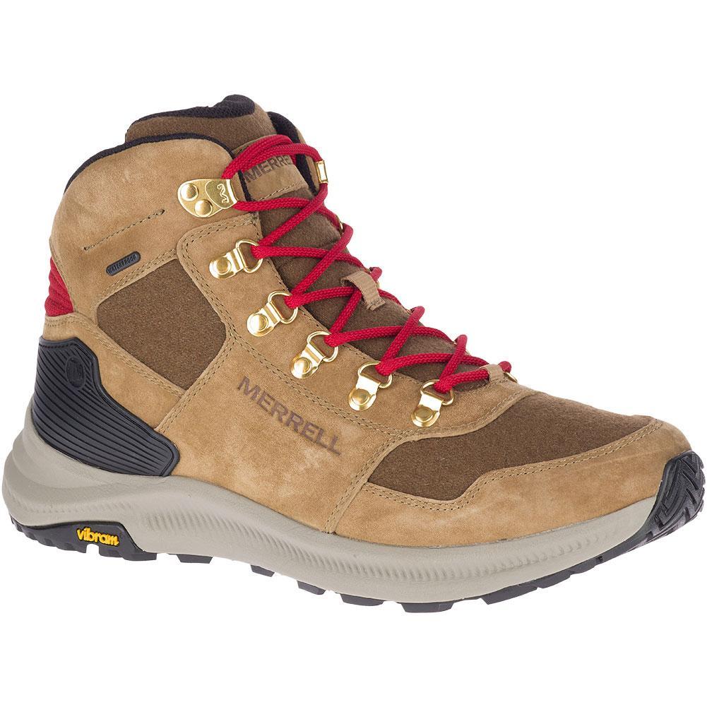 Merrell Ontario 85 Wool Mid Waterproof Hiking Boots Men's