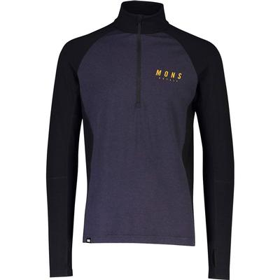 Mons Royale Olympus 3.0 Half Zip Base Layer Top Men's
