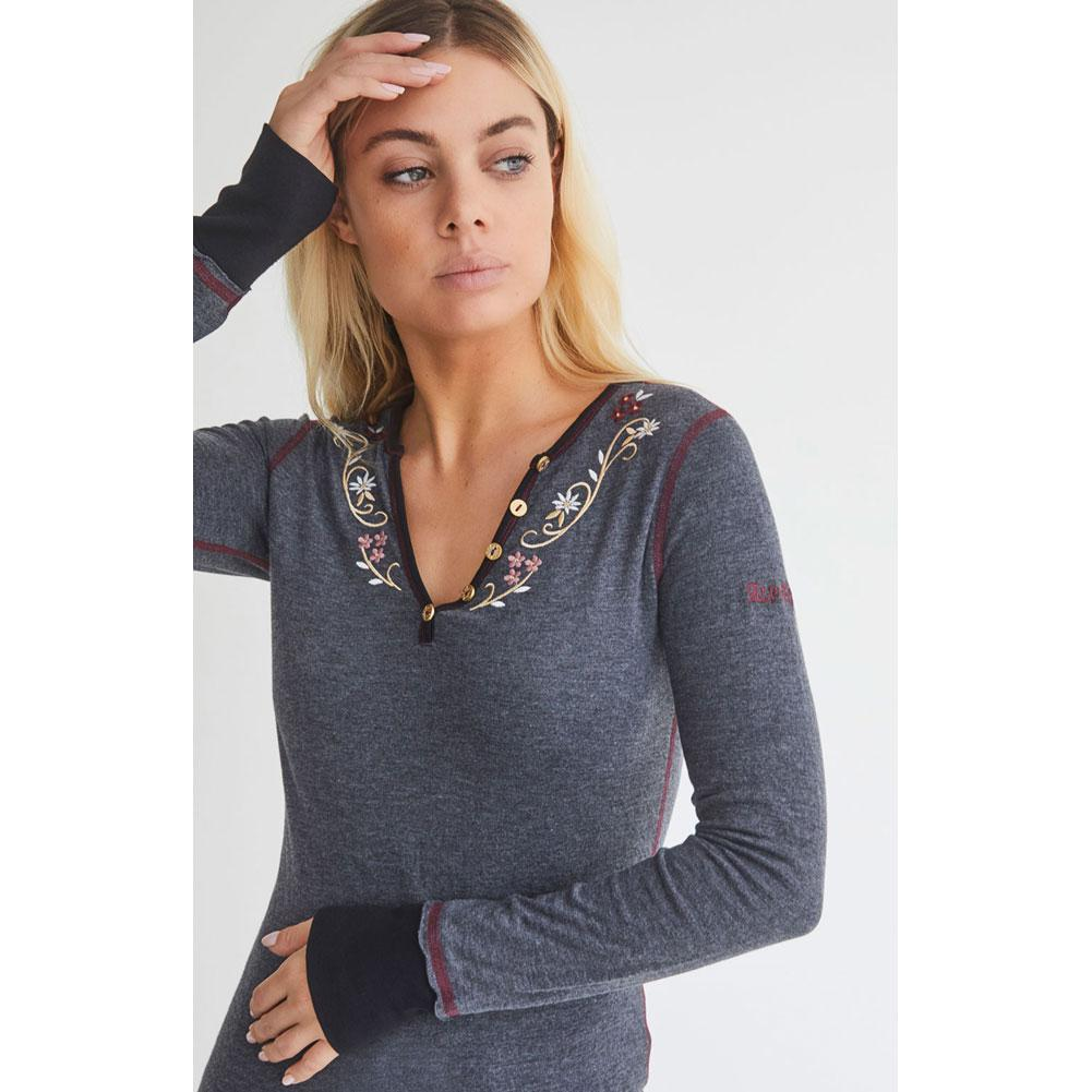 Alp N Rock Lila Henley Shirt Women's